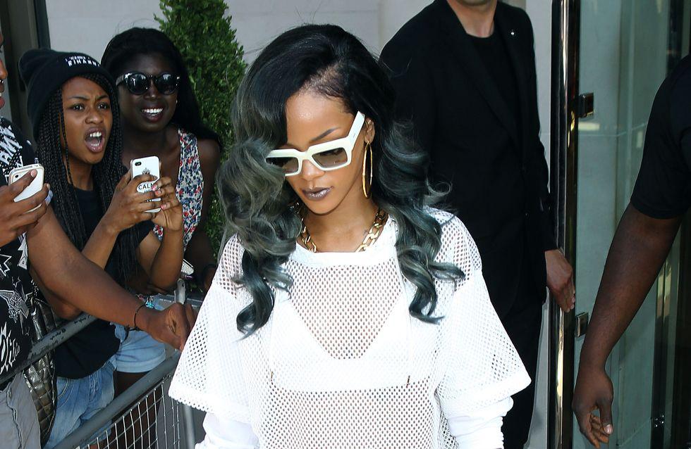 Rihanna : Ses photos dénudées font encore scandale