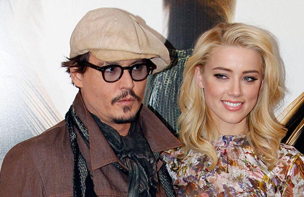 Johnny Depp et Amber Heard : Un bébé pour bientôt ?