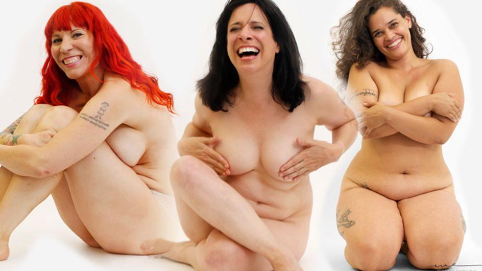 Una campaña desnuda a varias mujeres para demostrar que la belleza está en el interior