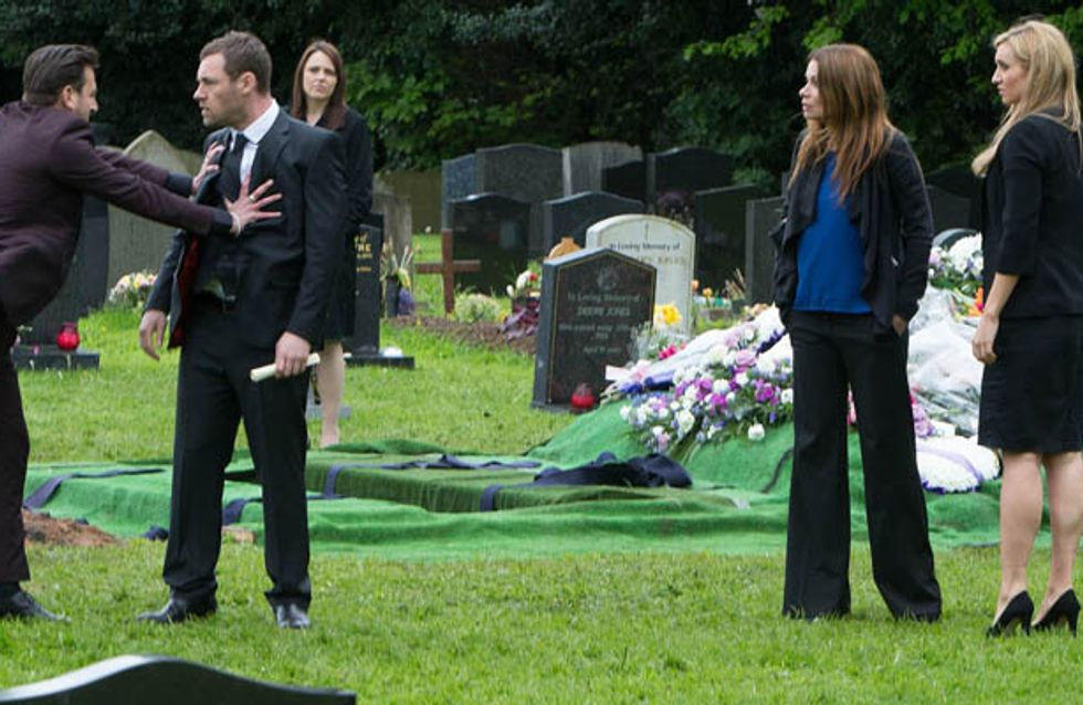 Coronation Street 23/06 – Tensions erupt at Tina's funeral