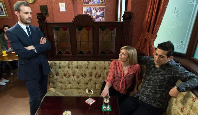 Rob struggles as Carla gets her life back