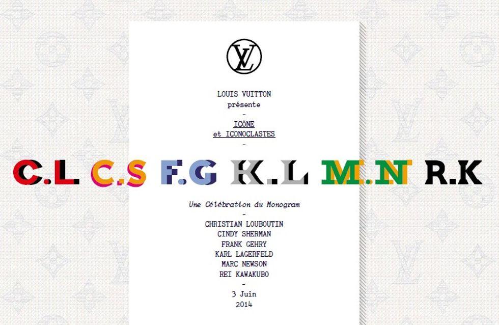 Louis Vuitton : Karl Lagerfeld et cinq autres grands couturiers revisitent le Monogram