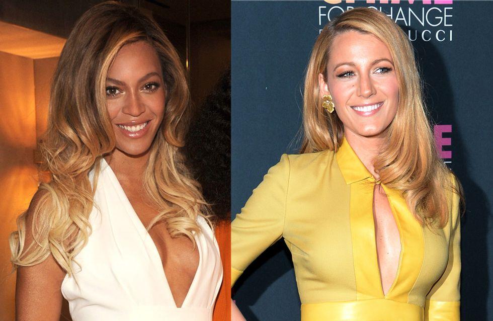 Beyoncé vs Blake Lively : La battle du plus beau décolleté