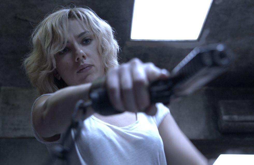 Scarlett Johansson : Déchaînée dans le nouveau teaser de Lucy (Vidéo)