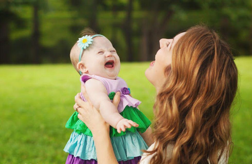 Ihre Tochter kommt mit dem Down-Syndrom auf die Welt. Daraufhin startet diese Mutter etwas Großartiges!
