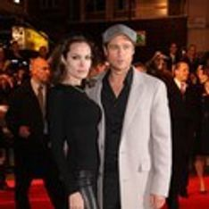 Angelina Jolie de Versace