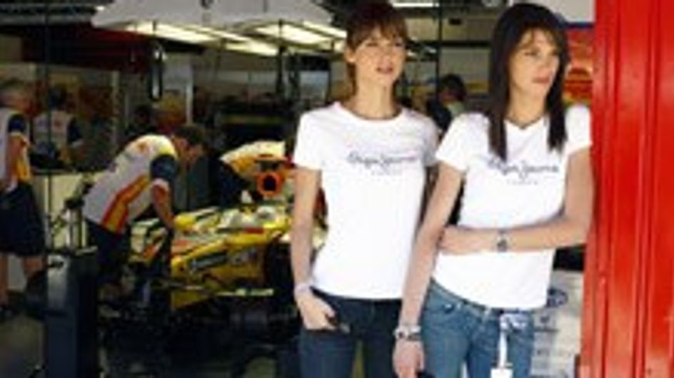 Laura Sánchez y Ariadne Artiles de Pepe Jeans en Montmeló