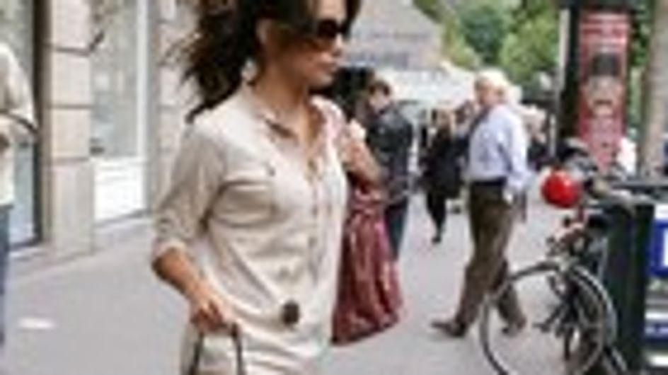 Eva Longoria de compras en París