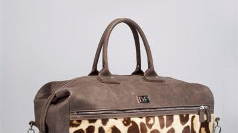 Diane Von Furstenberg presenta su primera línea de maletas
