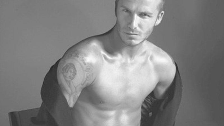 David Beckham en la nueva campaña Emporio Armani Underwear