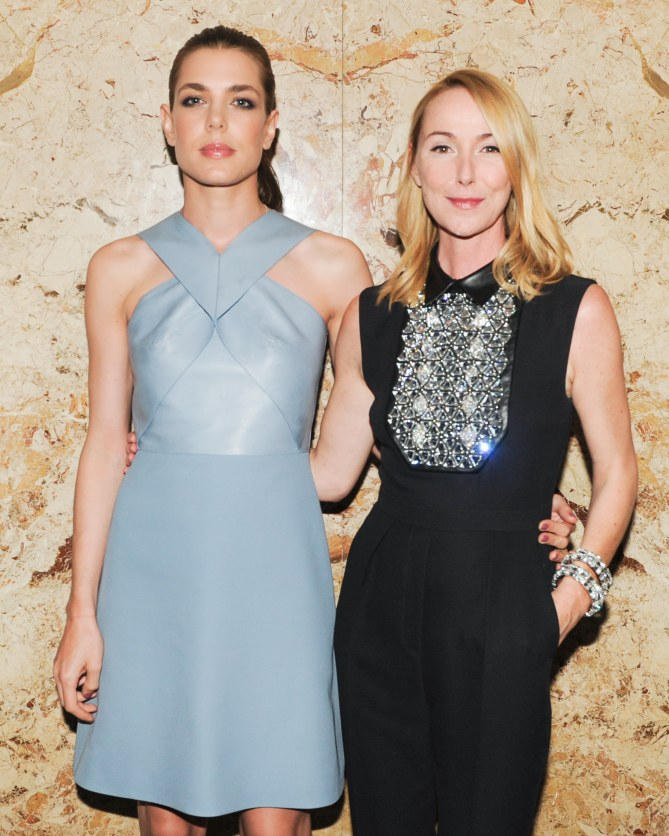 Charlotte Casiraghi et Frida Giannini