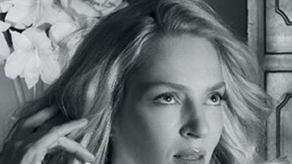Uma Thurman: imagen de los perfumes Givenchy