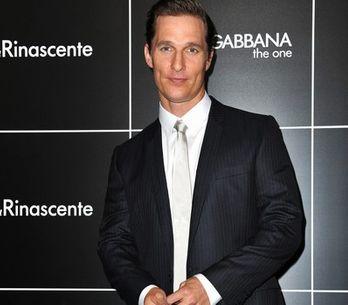 Matthew McConaughey en La Rinascente de Milán