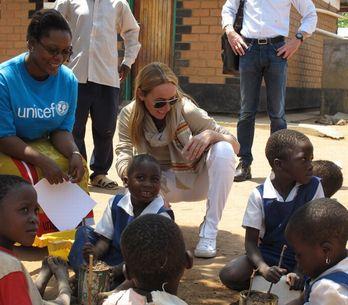Gucci, con los niños de África