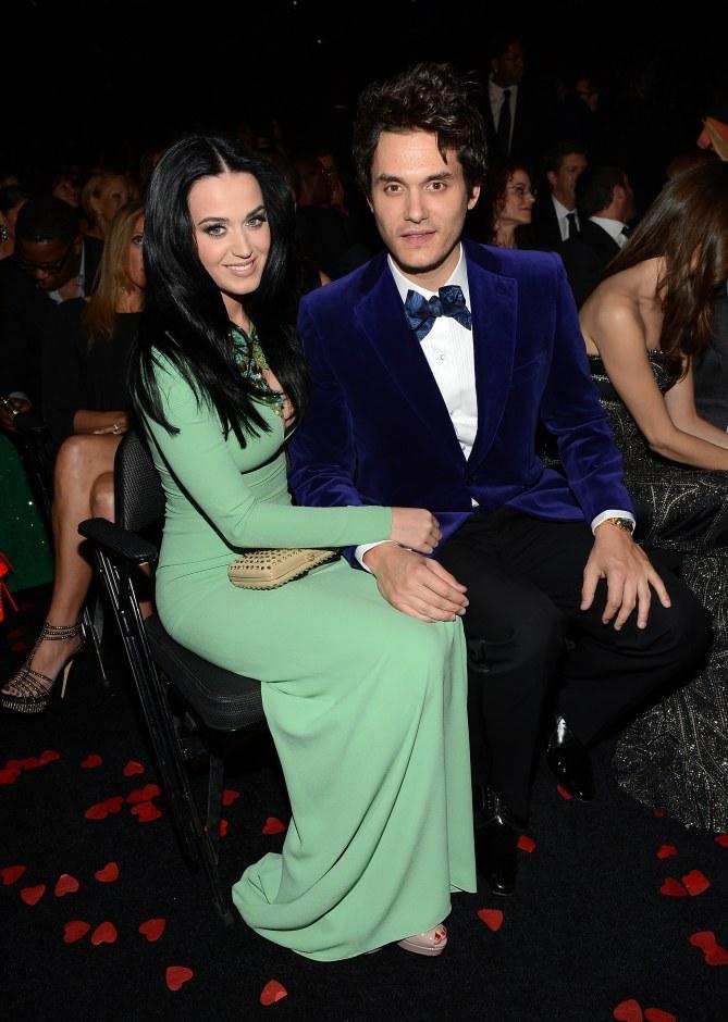 Katy Perry et John Mayer en 2013