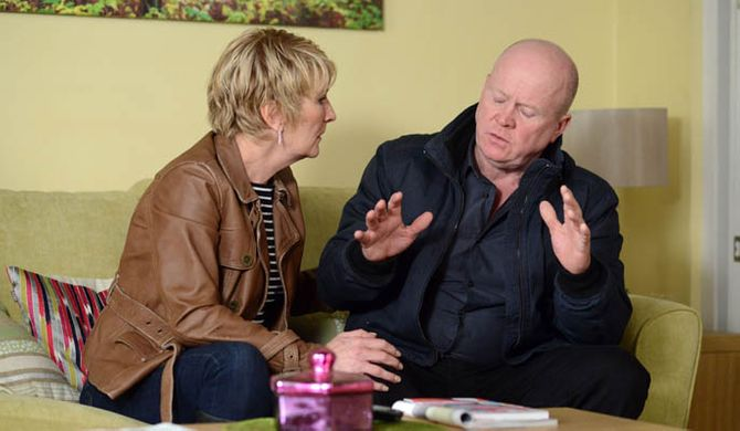 Shirley tries to speak to Phil