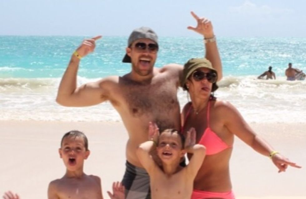 Vacances : Les stars s'éclatent en famille ! (Photos)