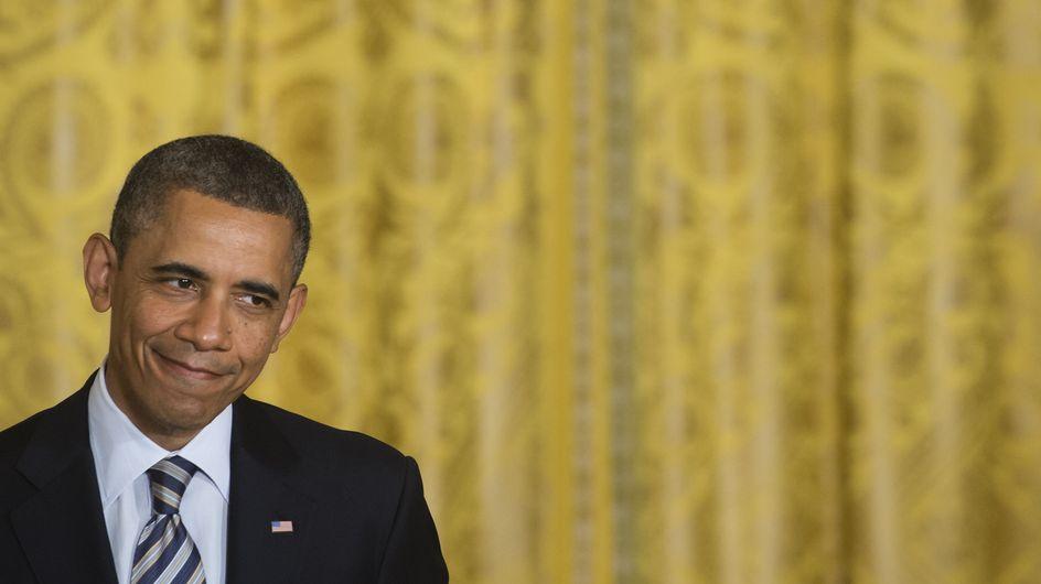 Barack Obama : Filmé à son insu en pleine séance de muscu (Vidéo)