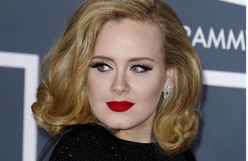 Adele se enfada con Robert Pattinson