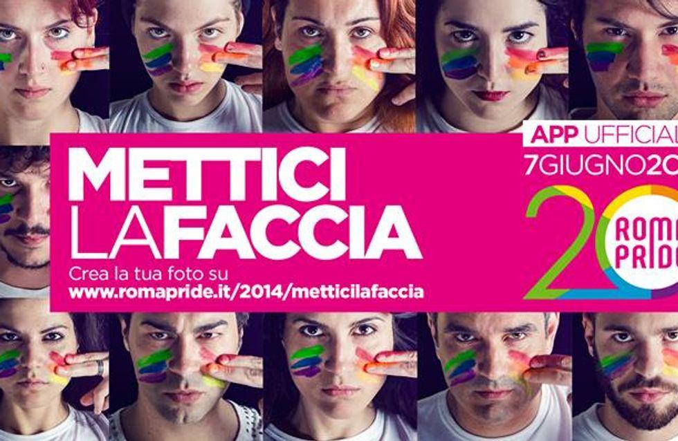 Mettici la faccia e sostieni il Roma Pride 2014 insieme a Lush