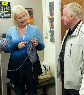 Coronation Street 02/07 – Michael becomes Gail's new project