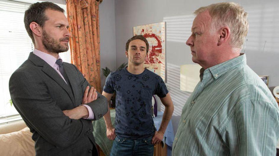 Coronation Street 03/07 – David and Nick threaten Michael