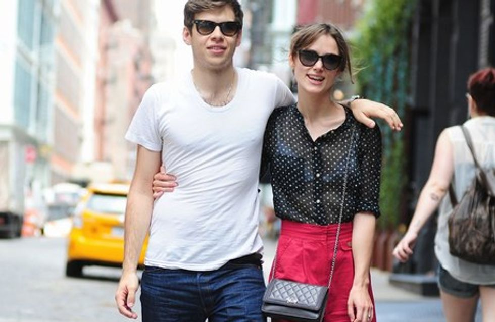 Keira Knightley se casa en secreto con su novio James Righton