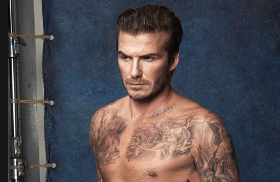 David Beckham à moitié nu : c'est bientôt fini