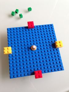 Etape 3 - Tuto LEGO horloge murale