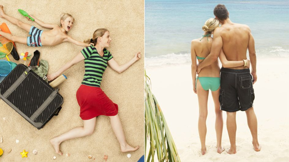 Reality-Check: Urlaub MIT Kindern vs. Urlaub OHNE Kinder