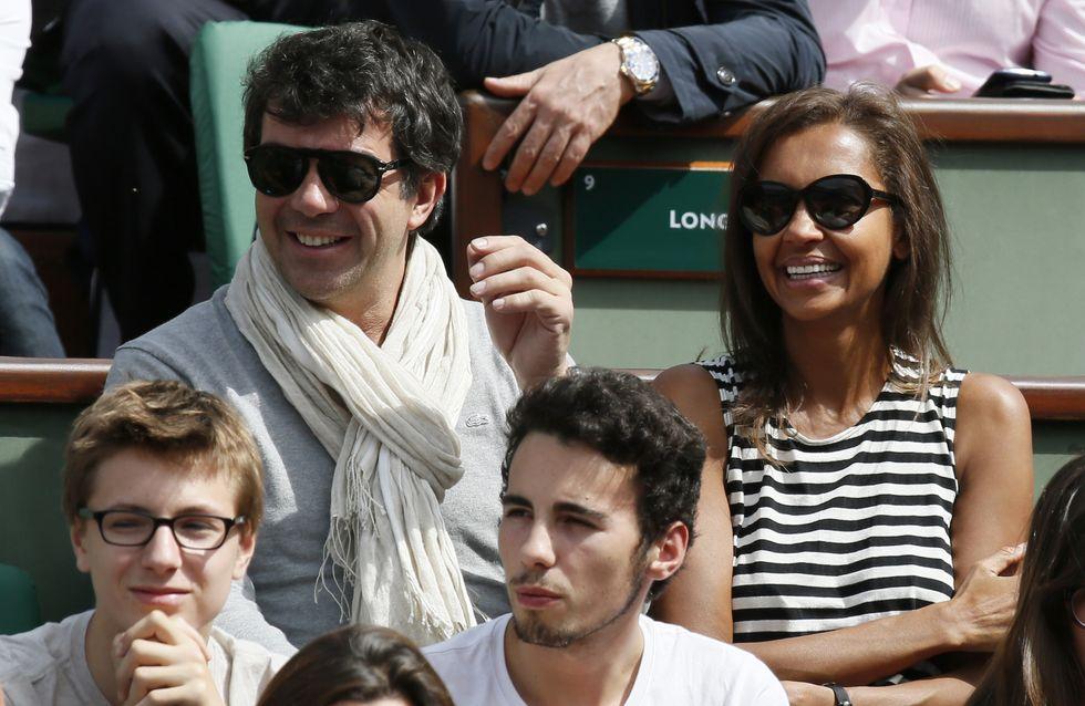 Roland Garros : Câlins, rigolades, concentration... les stars sont dans les gradins !