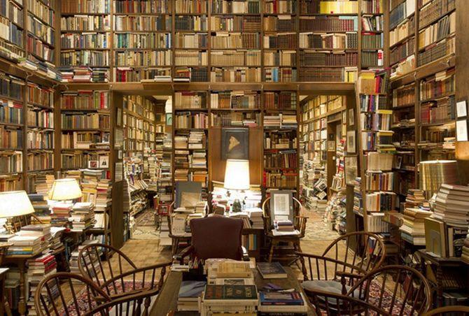 La libreria di Richard Macksey con oltre 70,000 libri