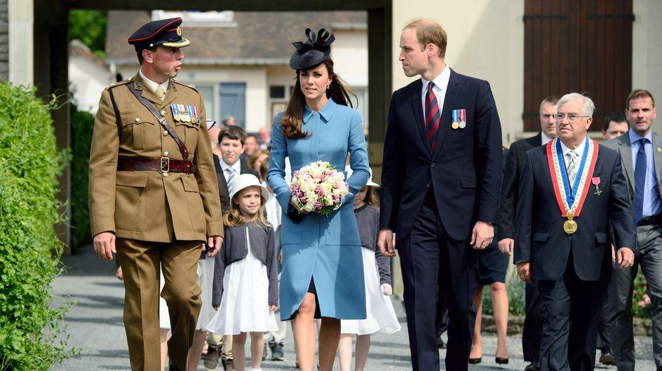 D-Day : Kate Middleton et William, très émus pour célébrer le 70ème anniversaire du débarquement