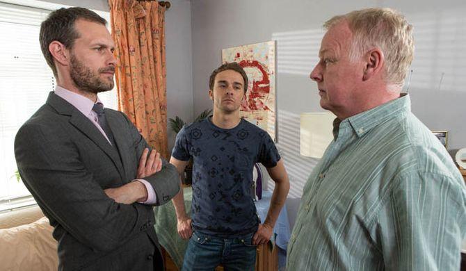 David and Nick threaten Michael
