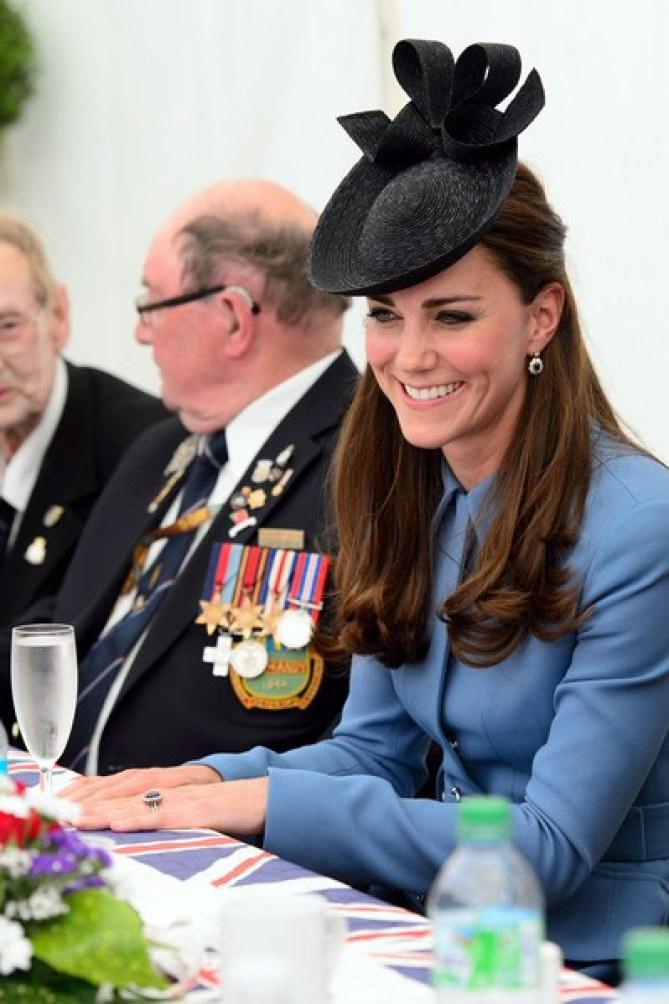 Kate Middleton en Normandie