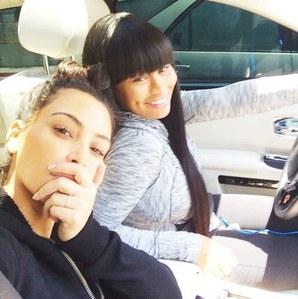 Kim Kardashian sans maquillage