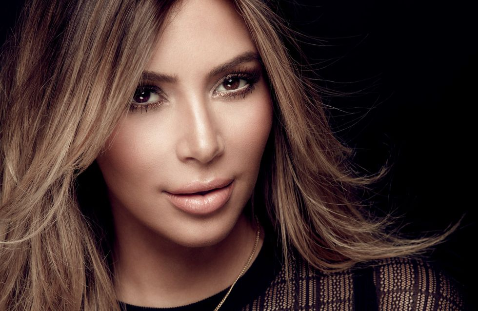 Kim Kardashian : Elle s'affiche sans maquillage (Photo)