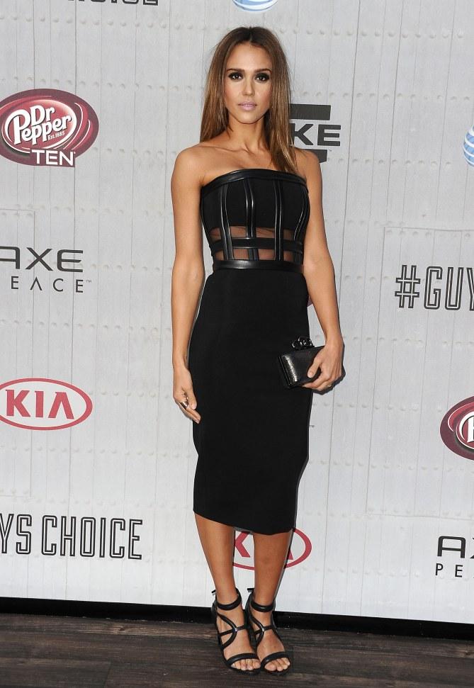 Jessica Alba aux Guys Choice Awards