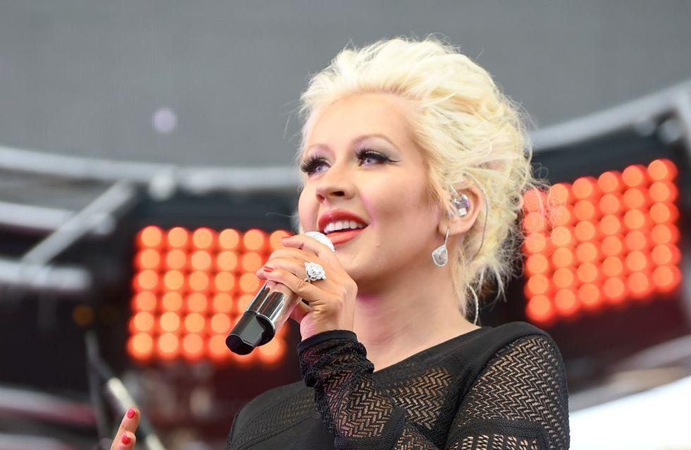 Christina Aguilera : Pressée d'accoucher