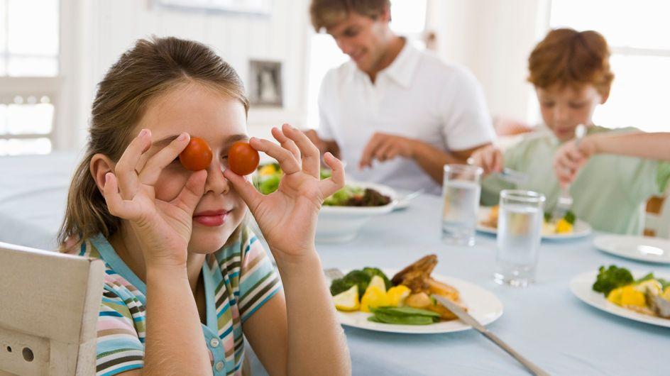 Le buone abitudini si imparano da piccoli: mangiare sano, ma con gusto
