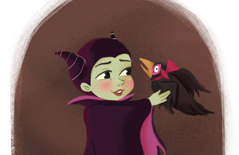 ¿Cómo te imaginas a las villanas Disney de pequeñas?