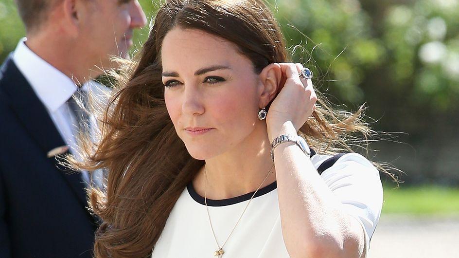 Kate Middleton : Les cheveux dans le vent !