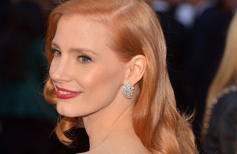 Jessica Chastain : L'actrice change de tête (Photo)