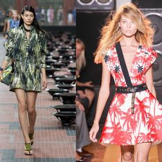 Les garde-robes adoptent la tendance tropicale !