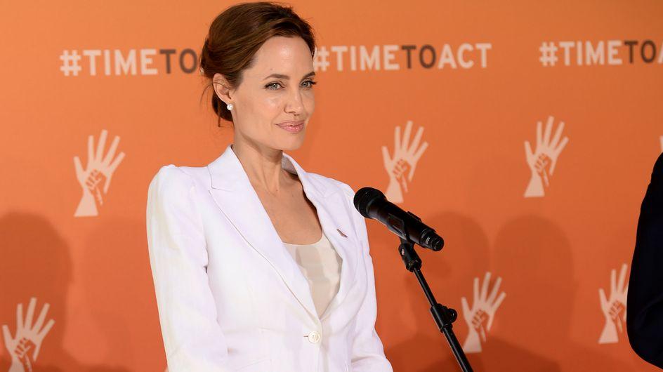 Angelina Jolie : Plus mobilisée que jamais pour stopper les viols en temps de guerre