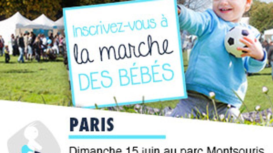 En avant pour la 4ème édition de la Marche des Bébés !