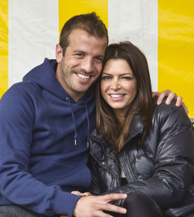 Rafael van der Vaart und Sabia Boulahrouz