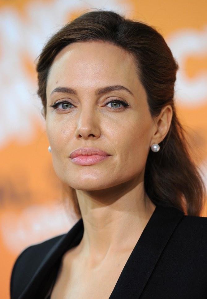 Angelina Jolie à Londres le 12 juin 2014
