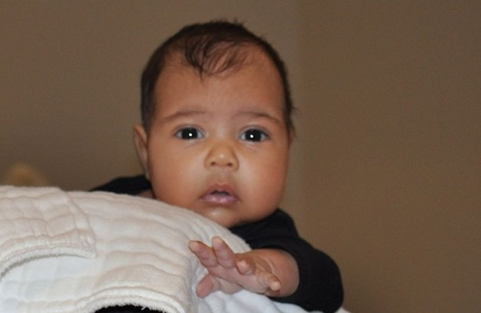 Kim Kardashian : North West, 1 an et déjà une vraie star (Photos)