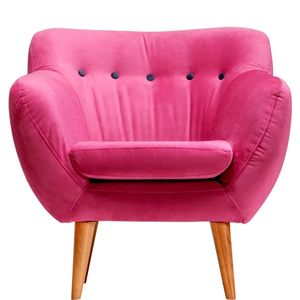 Retro-Sessel 'Jazz' in Pink